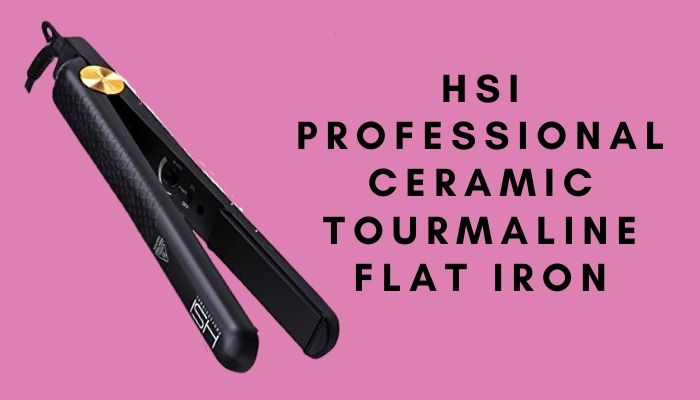 HSI Professional Ceramic Tourmaline Flat Iron