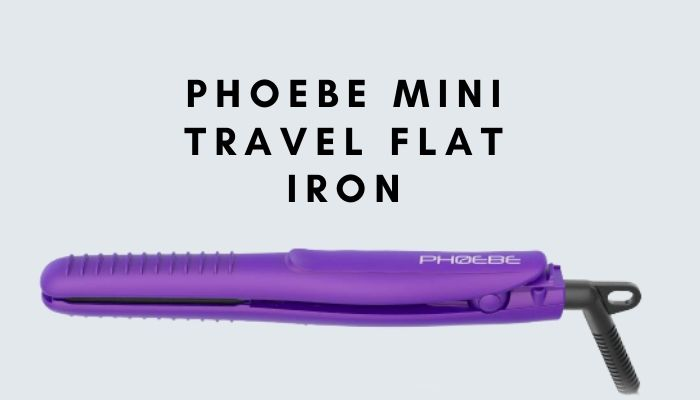 Phoebe Mini Travel Flat Iron