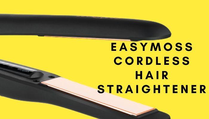 Easymoss Cordless Hair Straightener