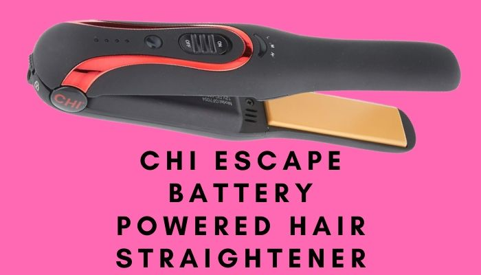 CHI Escape Battery Powered Hair Straightener