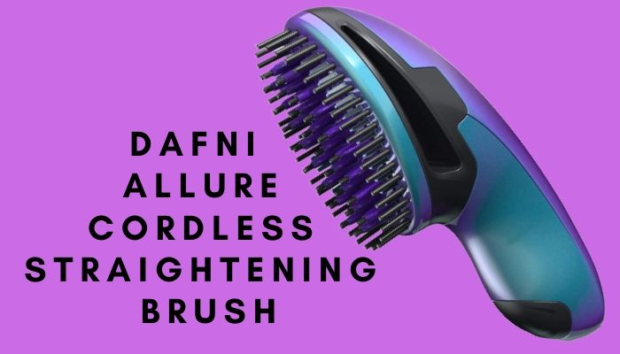 Dafni Allure Cordless Straightening Brush