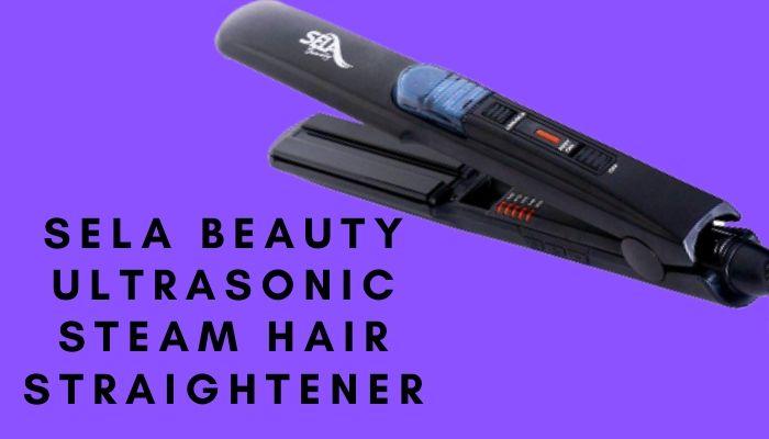 Sela Beauty Ultrasonic Steam Hair Straightener