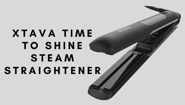 Xtava Time To Shine Steam Straightener