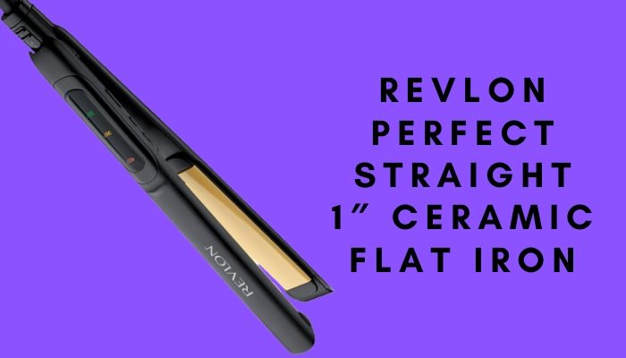 Revlon Perfect Straight 1″ Ceramic Flat Iron