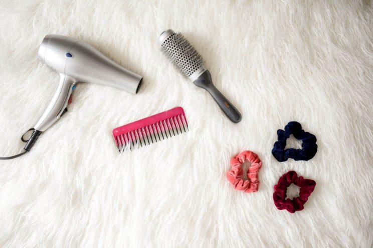 ceramic hair brush